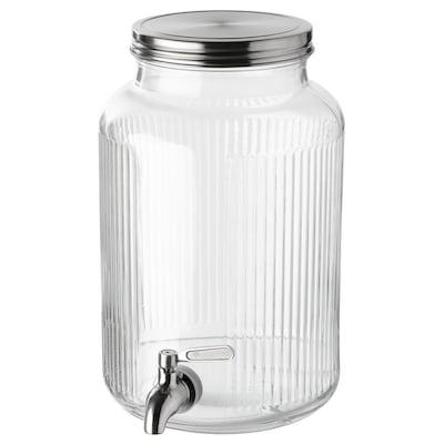 VARDAGEN Bocal avec robinet, 5.3 qt