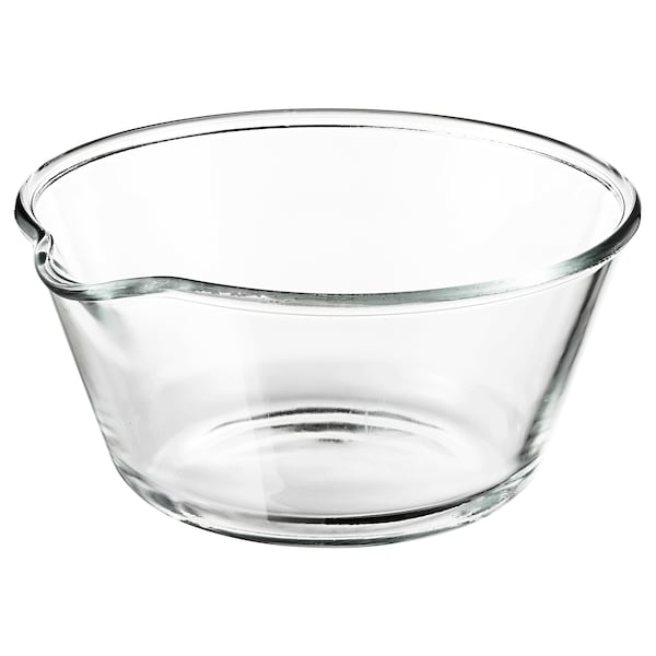 "VARDAGEN Bol à mélanger, verre clair, 10 """