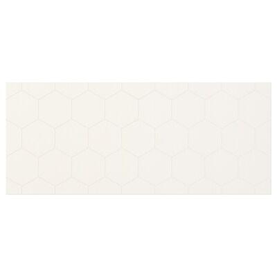 """VASSVIKEN Façade de tiroir, blanc, 23 5/8x10 1/4 """""""