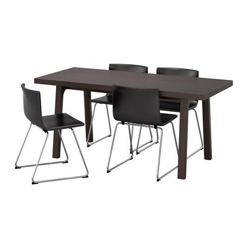 V stanby v stan bernhard table et 4 chaises ikea for Chaise bernhard ikea