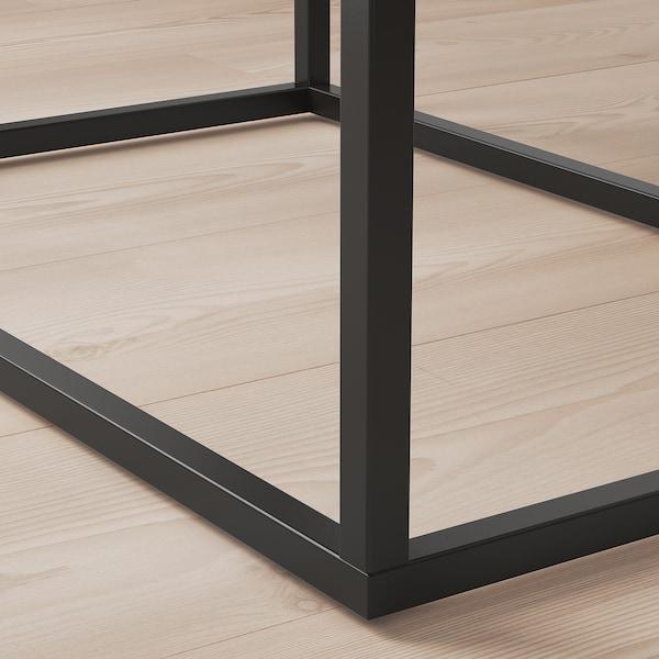 """VIKHAMMER Chevet, noir, 23 5/8x15 3/8 """""""