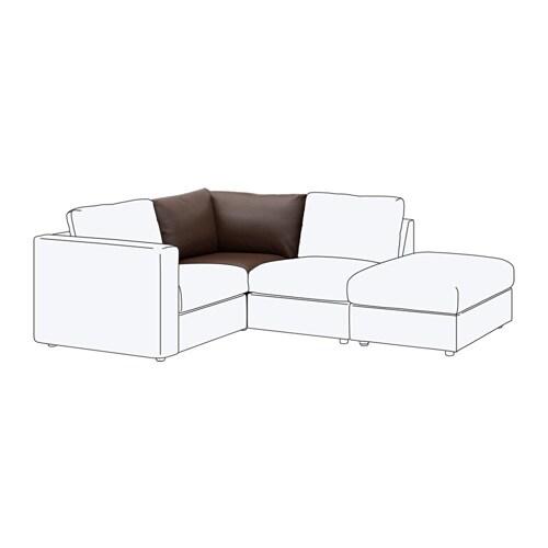 vimle chauffeuse d 39 angle farsta brun fonc ikea. Black Bedroom Furniture Sets. Home Design Ideas