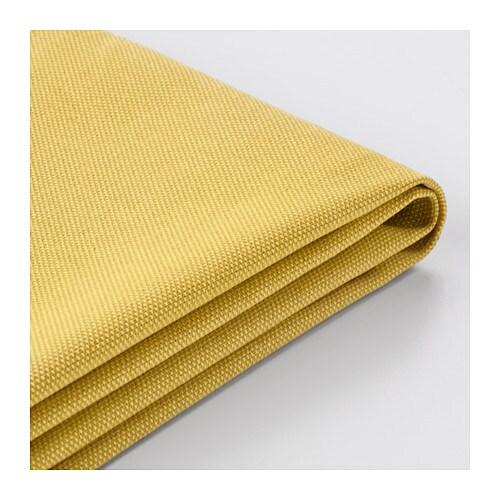 Vimle housse canap orrsta jaune dor ikea for Canape jaune ikea