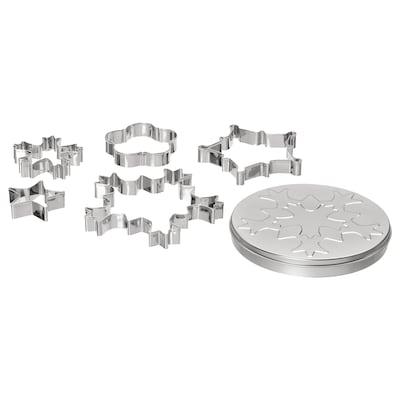 VINTER 2020 5 emporte-pièces et boîte, formes variées
