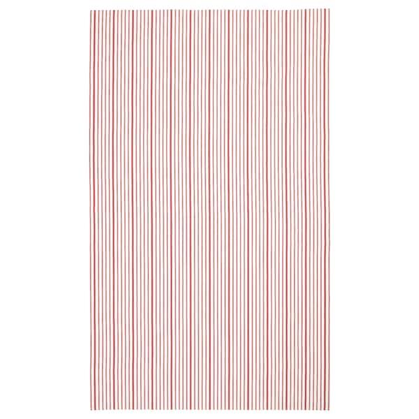 "VINTER 2020 Nappe, rayé rouge/blanc, 57x94 """