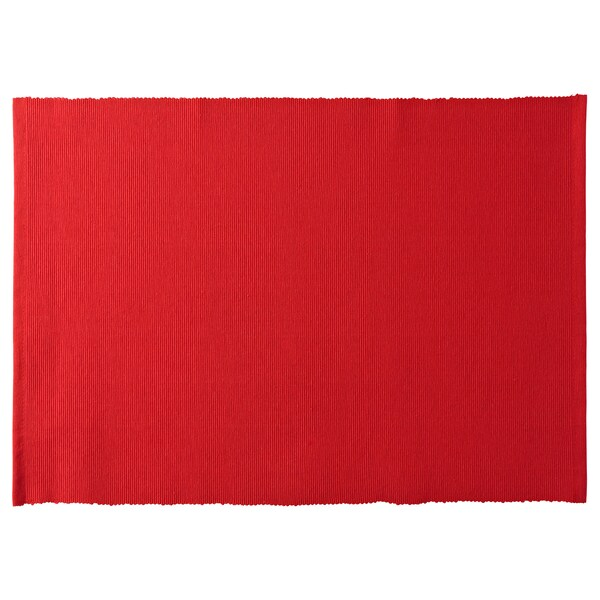 VINTER 2020 Napperon, rouge, 13 ¾x17 ¾ ""