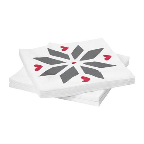 vinter 2017 serviette en papier ikea. Black Bedroom Furniture Sets. Home Design Ideas