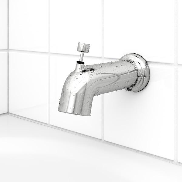 VOXNAN Ens bain/dche av mitigeur thermo, chromé