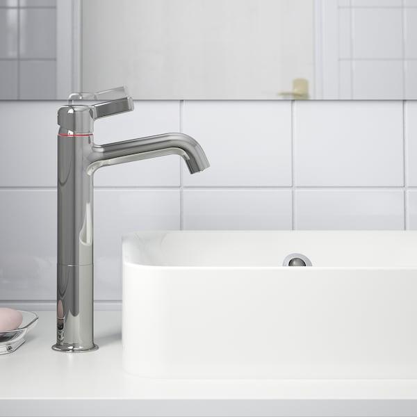 VOXNAN Mitigeur lavabo, grand, chromé