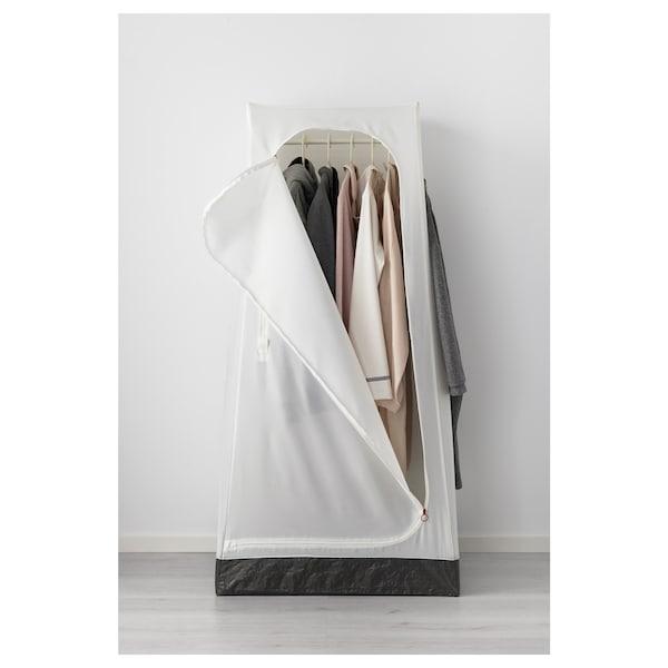 """VUKU Armoire-penderie, blanc, 29 1/8x20 1/8x58 5/8 """""""