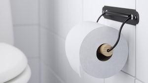 Porte-rouleaux de papier hygienique et piedestaux