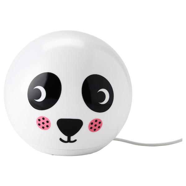 ÄNGARNA Tischleuchte, LED Pandamuster 200 lm 17 cm 18 cm 1.9 m 3 W