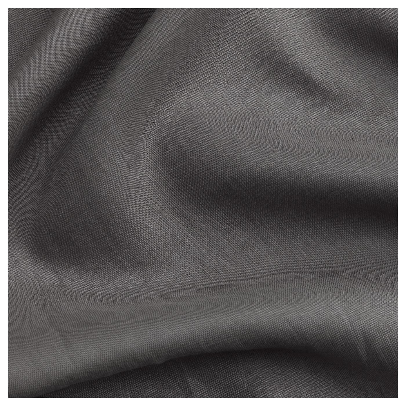 AINA 2 Gardinenschals dunkelgrau 300 cm 145 cm 2.00 kg 4.35 m² 2 Stück