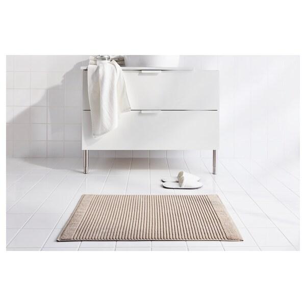 ALSTERN Badematte beige 80 cm 50 cm 0.40 m² 900 g/m²