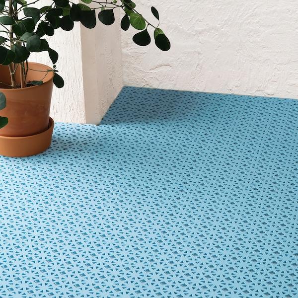 ALTAPPEN Bodenrost/außen, hellblau, 0.81 m²