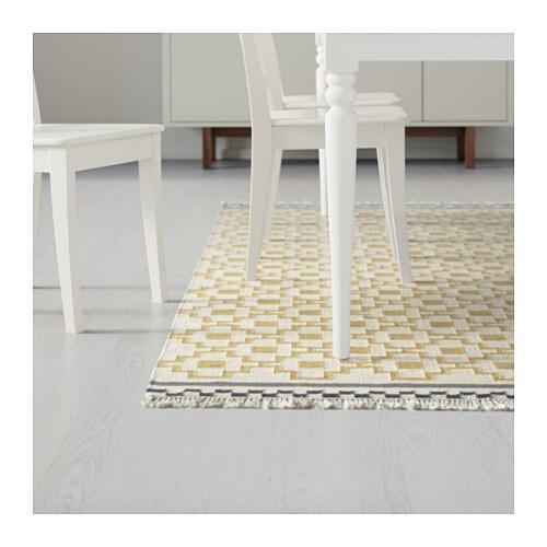 Teppich ikea alvine  ALVINE RUTA Teppich flach gewebt - IKEA