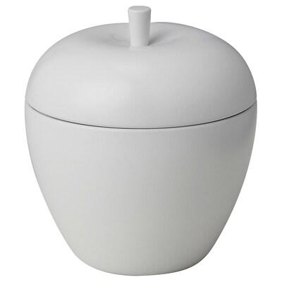 ANSPRÅKSLÖS Duftkerze in Dose, Apfel/Äpfel und Birnen weiß, 9 cm