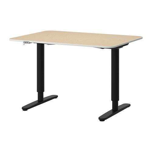 Ikea Kleiderschrank Türen Einstellen ~ Start  Arbeitsplatz  PC Schreibtische  BEKANT Stehpulte