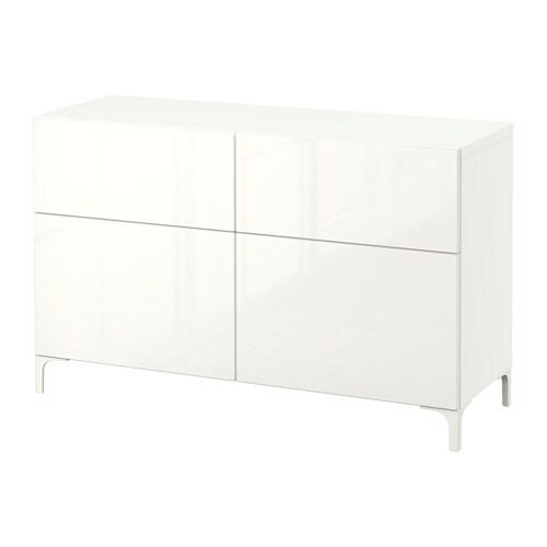 best aufbewkomb t ren schubladen wei selsviken hochglanz wei schubladenschiene sanft. Black Bedroom Furniture Sets. Home Design Ideas