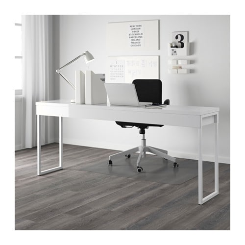 micke escritorio blanco ikea escritorios y mesas largas. Black Bedroom Furniture Sets. Home Design Ideas