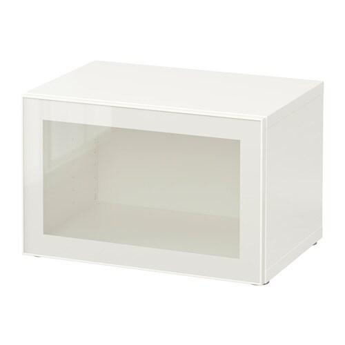 bestÅ regal mit glastür - weiß/glassvik weiß/klarglas - ikea