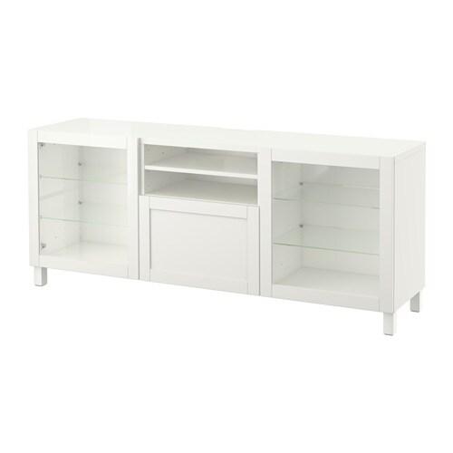 Pax Kleiderschrank Ikea Heerlen ~   Hanviken Sindvik Klarglas weiß, Schubladenschiene, Drucksystem  IKEA