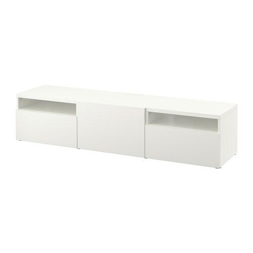best tv bank lappviken wei schubladenschiene sanft. Black Bedroom Furniture Sets. Home Design Ideas