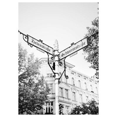 BILD Bild, Nostalgisch, Berlin, 50x70 cm