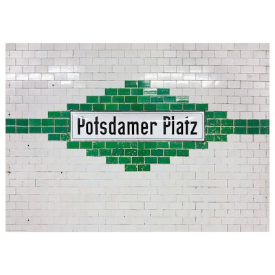 BILD Bild, Potsdamer Platz, Berlin, 70x50 cm