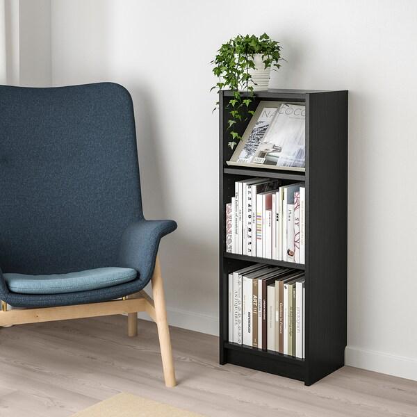 BILLY / BOTTNA Bücherregal mit Facheinlage schwarzbraun/beige 40 cm 28 cm 106 cm 14 kg