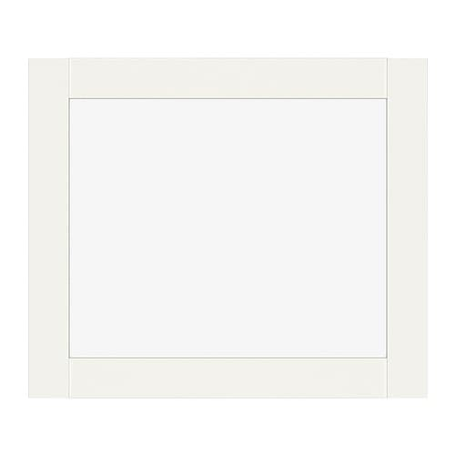 BILLY OLSBO Vitrinentür IKEA Zum Öffnen aufdrücken; keine Griffe notwendig.