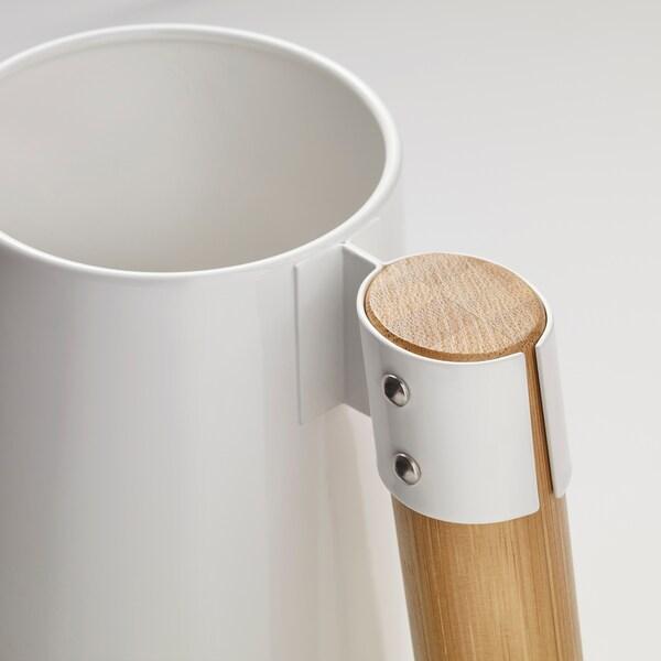 BITTERGURKA Gießkanne weiß 30 cm 2 l