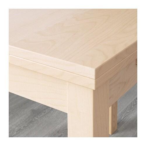 BJURSTA Ausziehtisch - Birkenfurnier - IKEA