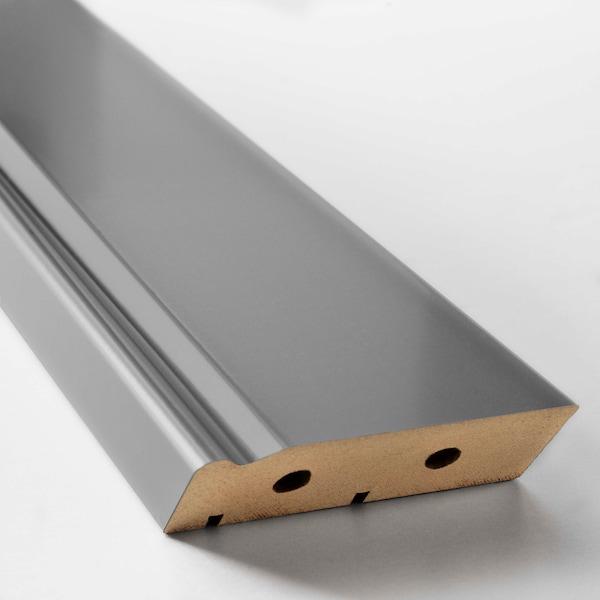 BODBYN Dekosockel, grau, 221x8 cm