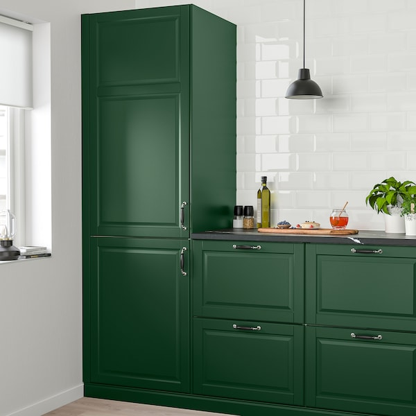 BODBYN Tür dunkelgrün 59.7 cm 140.0 cm 60.0 cm 139.7 cm 1.9 cm