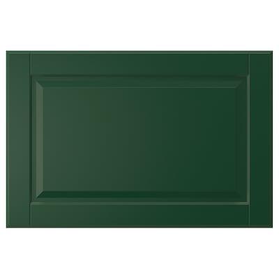 BODBYN Schubladenfront dunkelgrün 59.7 cm 40 cm 60 cm 39.7 cm 1.9 cm