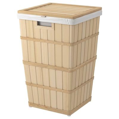 BRANKIS Wäschekorb 37 cm 37 cm 56 cm 50 l
