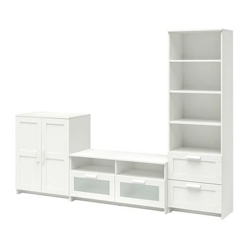 Brimnes Tv Möbel Kombination Weiß Ikea