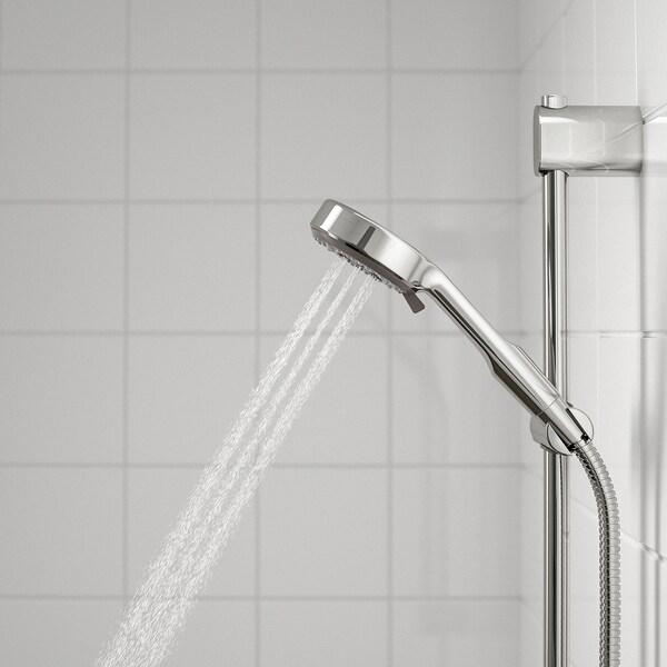 BROGRUND Handdusche/3 Funktionen verchromt 90 mm