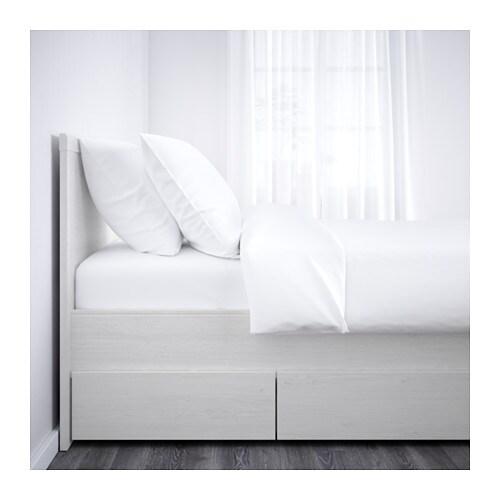 Ikea jugendbett mit schubladen  BRUSALI Bettgestell mit 4 Schubladen - 160x200 cm, - - IKEA