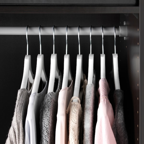 BUMERANG Kleiderbügel, weiß