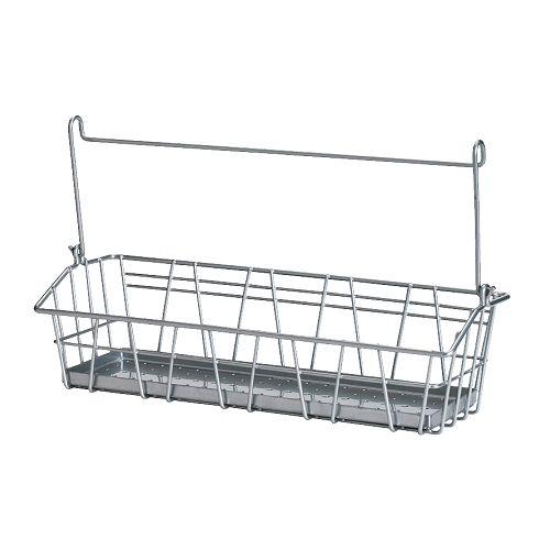 BYGEL Drahtkorb IKEA Kann an die BYGEL Stange gehängt, an der Wand angebracht oder an der Innenseite von Türen und Küchenschränken befestigt werden.