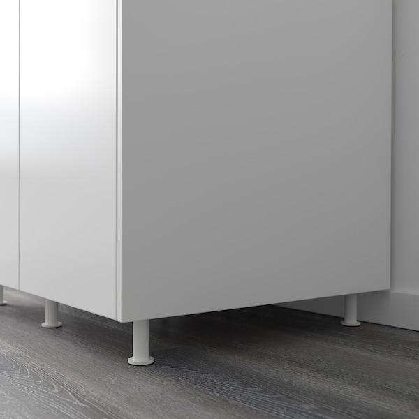 CAPITA Bein, weiß, 8 cm