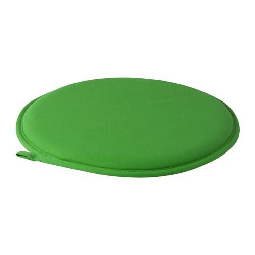Stuhlkissen, grün, grün 34 cm
