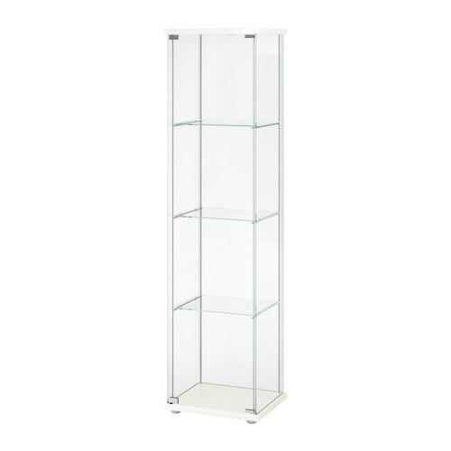 Ikea Applad Weiß: DETOLF Vitrine