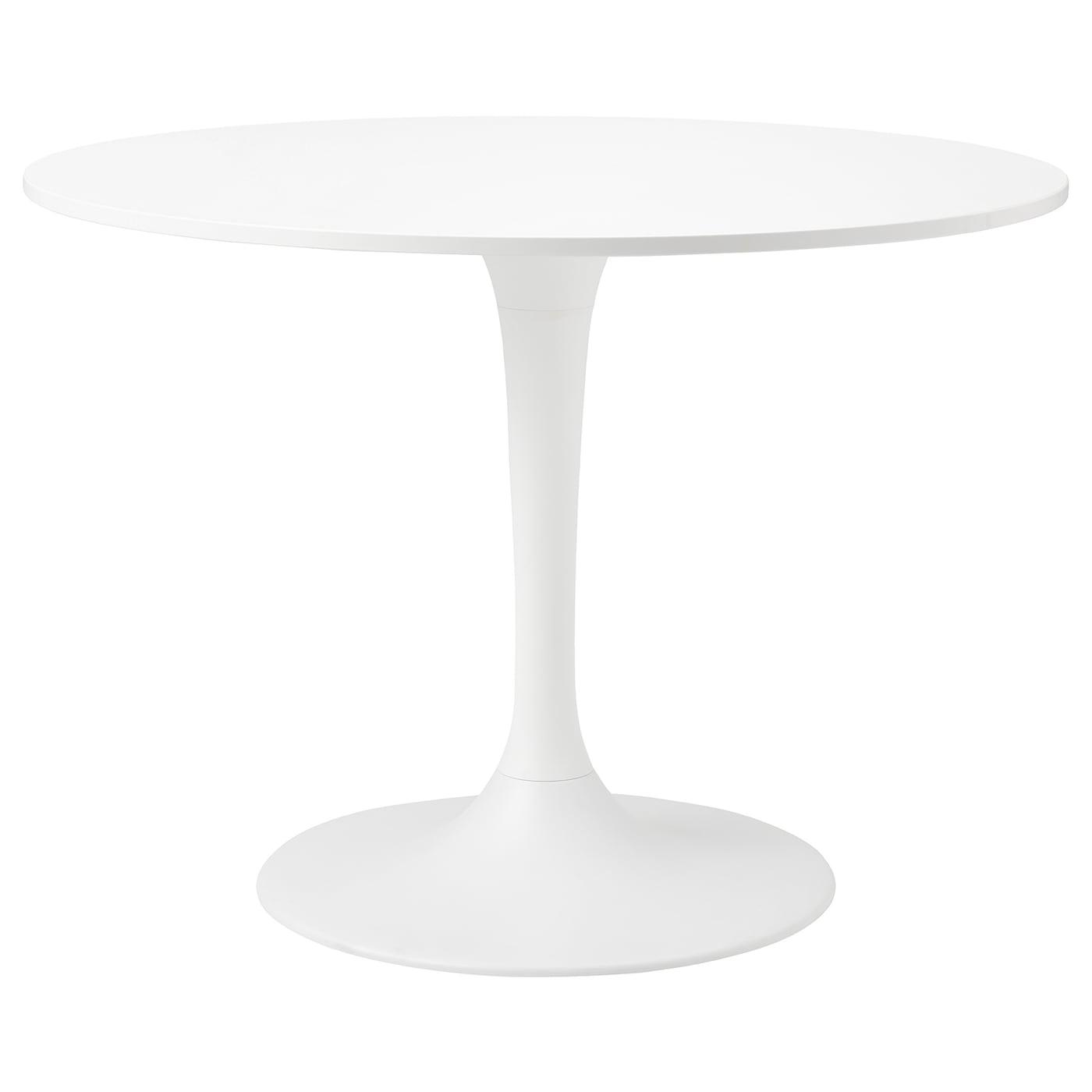 DOCKSTA Tisch   weiß/weiß 9 cm