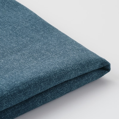 DUNVIK Bezug für Boxspring, Gunnared blau, 180x200 cm