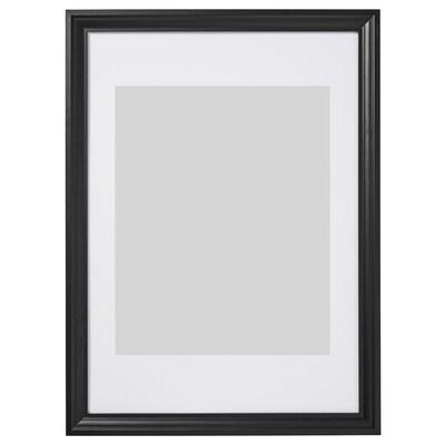 EDSBRUK Rahmen, schwarz lasiert, 50x70 cm