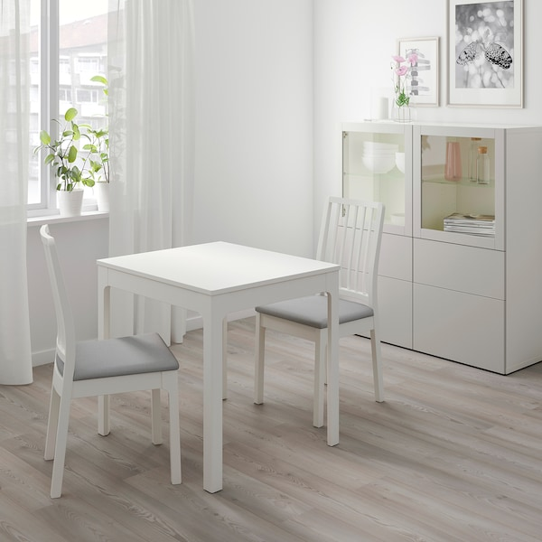 Ekedalen Ekedalen Tisch Und 2 Stuhle Weiss Orrsta Hellgrau