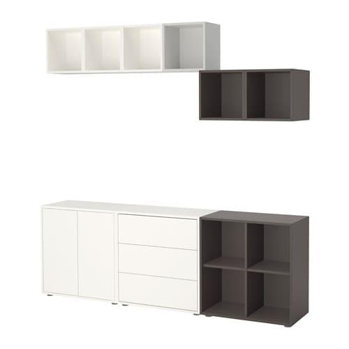 Ikea Füße eket schrankkombination füße weiß hellgrau dunkelgrau ikea
